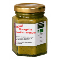 Tartinade courgette basilic menthe