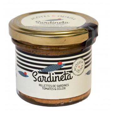 Sardineta rillettes de sardines tomates et céleri