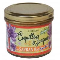 Terrine de coquilles Saint Jacques au safran bio