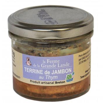 Terrine de jambon au thym