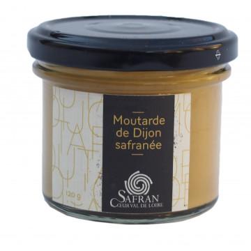 Moutarde de Dijon safranée