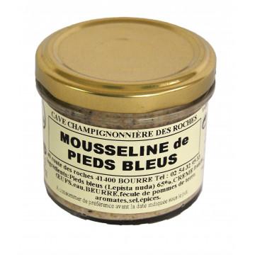 Mousseline de Pieds Bleus
