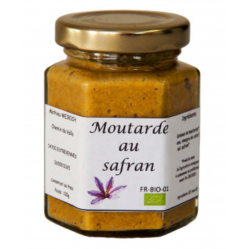 Moutarde au safran bio