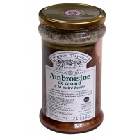 Ambroisine à la poire tapée et au Vouvray