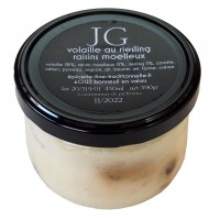 Volaille sauce riesling raisins moelleux
