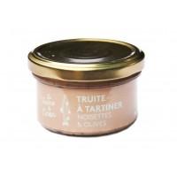 Terrine de truite à tartiner noisettes et olives