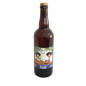 Bière blonde triple La Mascotte