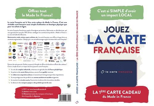La carte française chez monproduitdefrance